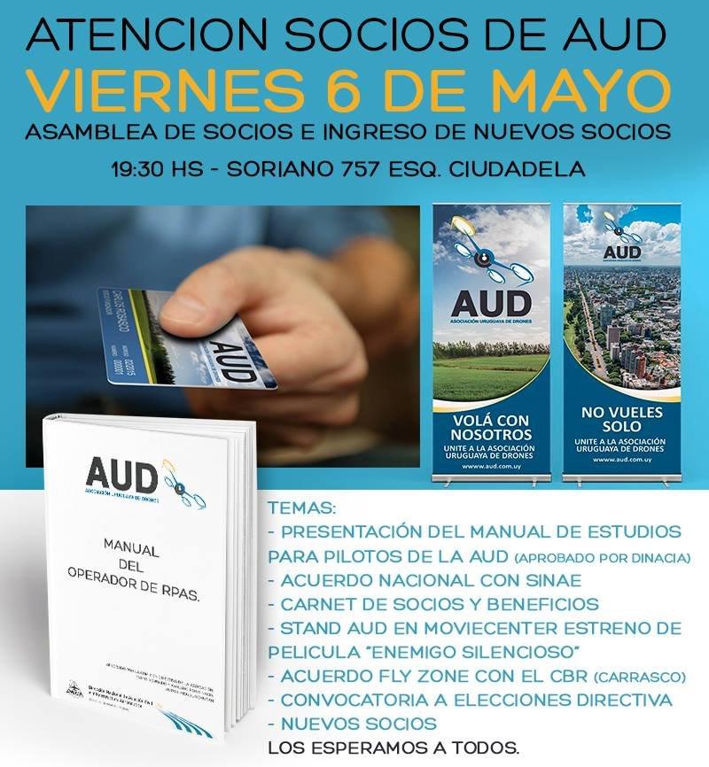 Reunión informativa – Viernes 6 de mayo