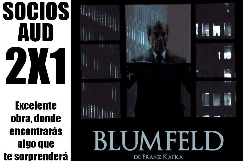 Blumfeld de Franz Kafka – 2×1